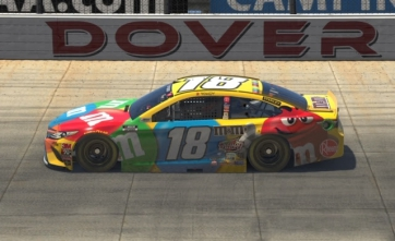 M&M'S Racing: Kyle Busch iRacing Pro Invitational Dover Advance