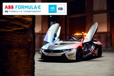 BMW i to continue supplying fleet of course cars as official vehicle partner of Formula E