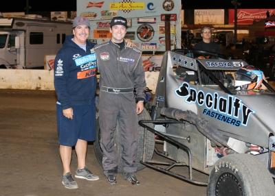 Eddie Tafoya Jr. Gets Eighth Place Finish at Perris Auto Speedway