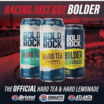Bold Rock Signs Multi-Track Sponsorship With Speedway Motorsports