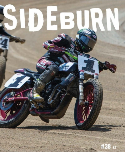 Sideburn Continues as Official Magazine of Progressive American Flat Track