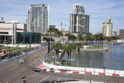 Six Floridian racers to kick off track build on Tuesday (Feb. 18) for Firestone Grand Prix of St. Petersburg
