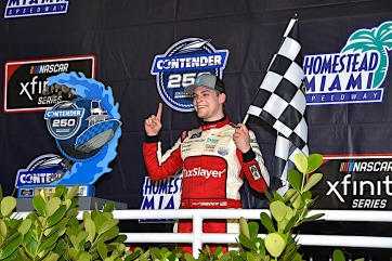 NXS: Myatt Sinder gets first Xfinity Series career win at Homestead