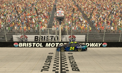 William Byron dominates in eNASCAR iRacing race at virtual Bristol Motor Speedway