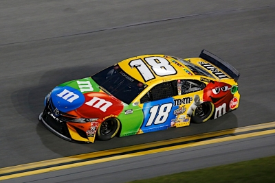Kyle Busch, No. 18 M&M'S Toyota Camry  Race Recap for the Bluegreen Vacations Duel