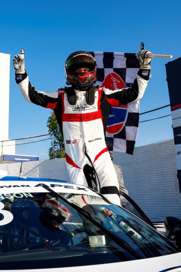 Dickinson Defends Against Kingsley for Porsche GT3 Cup Challenge USA by Yokohama Victory