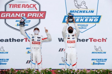 Big Second Half Propels No. 25 BMW to GTLM Win in TireRack.com Grand Prix