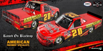 Spencer Boyd Announces Daytona Sponsorship with American Pavement Specialists