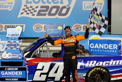 NGROTS: Chase Elliott Wins at Charlotte; Claims $100,000 Bounty