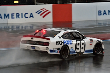 Spin Dampens Briscoe's Run at Rain-Soaked Roval