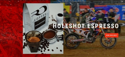 Multi-Time Motocross Champion Ryan Dungey's RD Coffee Introduces HOLESHOT Espresso Blend