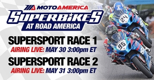 LIVE Racing Returns to MAVTV with Broadcasts of the MotoAmerica Supersport Series
