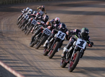 Action-Packed Labor Day Weekend Ahead with American Flat Track Springfield Mile Doubleheader
