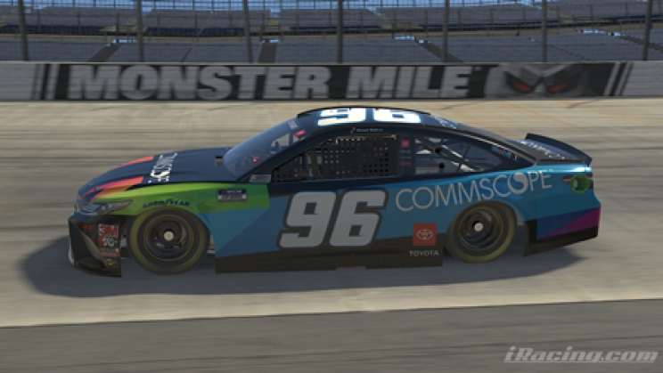 Gaunt Brothers Racing: Daniel Suárez iRacing Pro Invitational Dover Advance