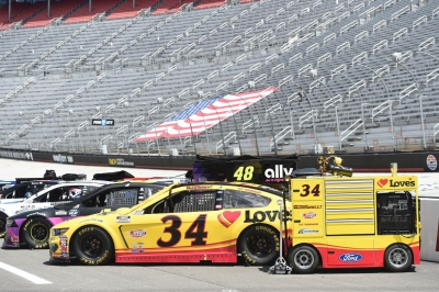 Michael McDowell Earns New Personal Best Finish at Bristol