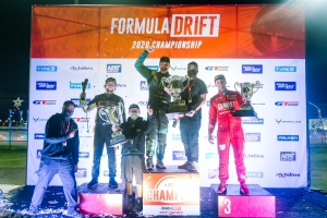 Team Nitto Tire Wins Formula DRIFT Championship and Sweeps Podium