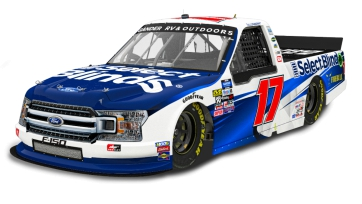 David Ragan to Pilot No. 17 Select Blinds Ford F-150 at Atlanta for DGR-Crosley