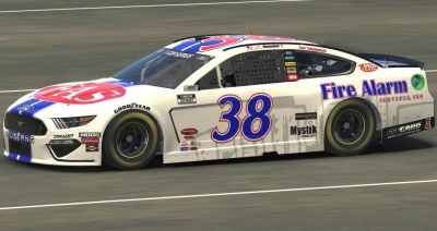 Fire Alarm Services, Inc. Makes History with John Hunter Nemechek at Virtual North Wilkesboro Speedway in NASCAR iRacing Event