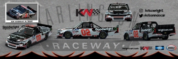 Kris Wright to Honor Ron Hornaday, Jr., with Throwback Weekend Paint Scheme at Darlington Raceway