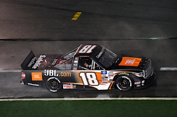Chandler Smith - No. 18 Safelite AutoGlass Tundra Camping World Trucks Las Vegas Preview