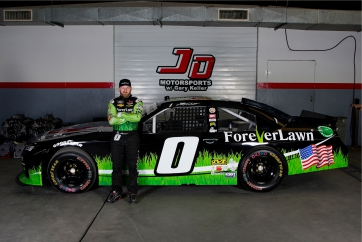 Foreverlawn partners with Jeffrey Earnhardt for majority of the 2021 season