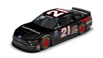 Wood Brothers' NewFordTech.com Mustang Ready For Twin Bill At Michigan