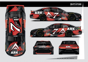 Spire Motorsports, LaJoie Partner with ARK.io for Martinsville