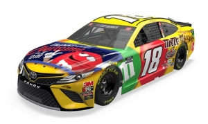 M&M'S Messages Racing: Kyle Busch iRacing Pro Invitational Bristol Advance