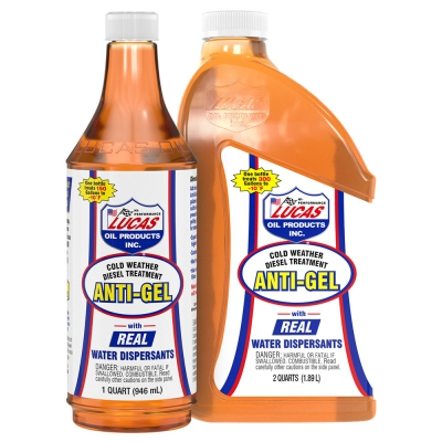 "Lucas Oil ""Anti-Gel"" is the Perfect Cold Weather Treatment to Keep Diesel Engines Rolling Through Harsh Winter Months"