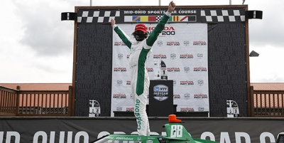 Andretti Autosport Snaps Out of Slump as Herta Leads Podium Sweep at Mid-Ohio