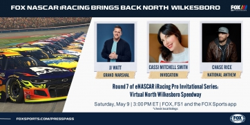 FOX NASCAR iRacing Brings Back North Wilkesboro
