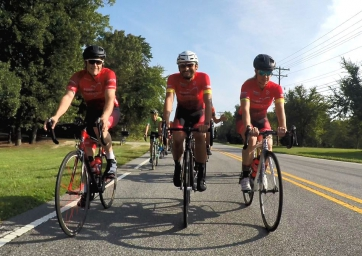 Bobby Labonte Foundation's Annual Fundraiser Becomes Roubaix-Style Charity Bike Ride at Bowman Gray Stadium