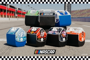 Igloo Releases New Nascar-Licensed Playmate Coolers for Throwback Weekend at Darlington Raceway