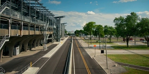 INDYCAR Drivers Hail Facility Upgrades, Clean New Look to IMS