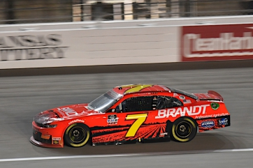 BRANDT Extends Partnership with JRM and Justin Allgaier