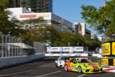 Porsche GT3 Cup Challenge USA by Yokohama Returns to St. Pete