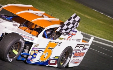 Tellstrom Takes Challenge, Goes Back to Front in Mission North State Modifieds