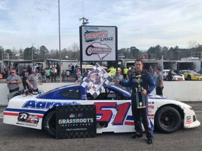 Matt Cox Drives To Late Model Stock Win At Florence