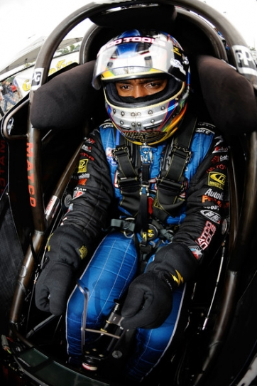 Antron Brown hopes to get back on top in the NHRA Top Fuel standings