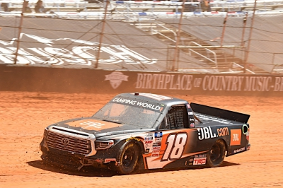 Chandler Smith has Eventful Day at Bristol Dirt Race